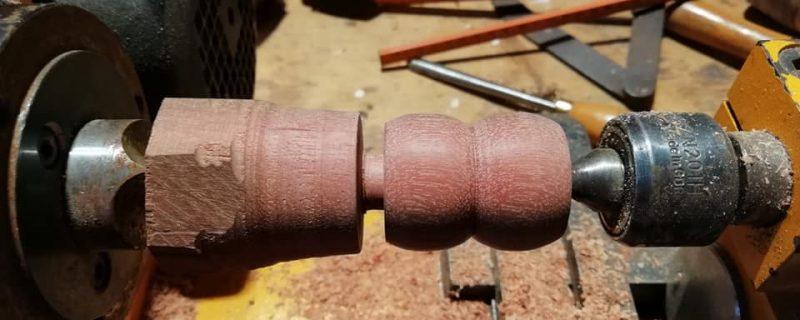 hout draaien